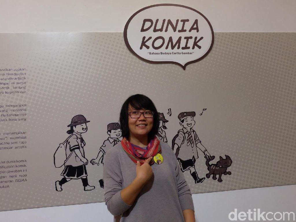 Komik The Chair Evelyn Ghozali Menangkan Indonesia Art Award 2018