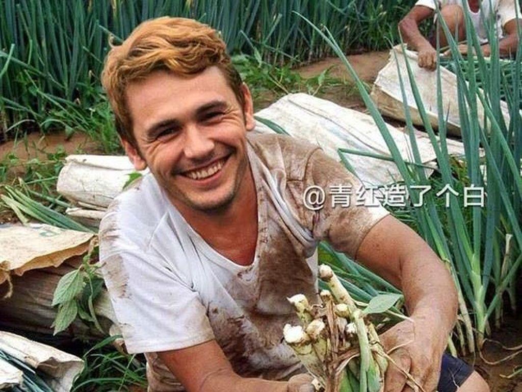 Kocak! Ketika Aktor Terkenal Hollywood Jadi Petani di China