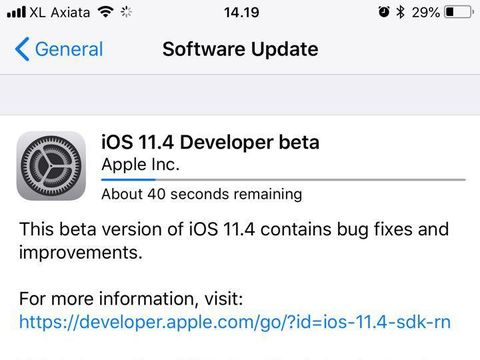 Ini Fitur Baru iOS 11.4 Beta