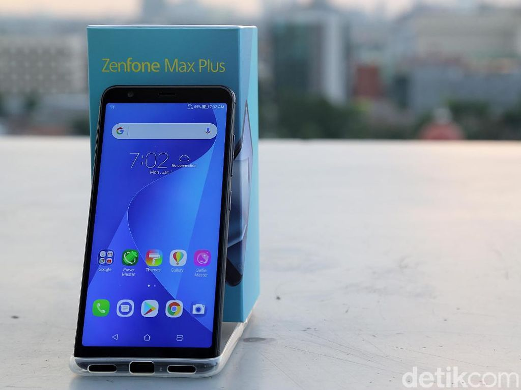 Unboxing Asus Zenfone Max Plus