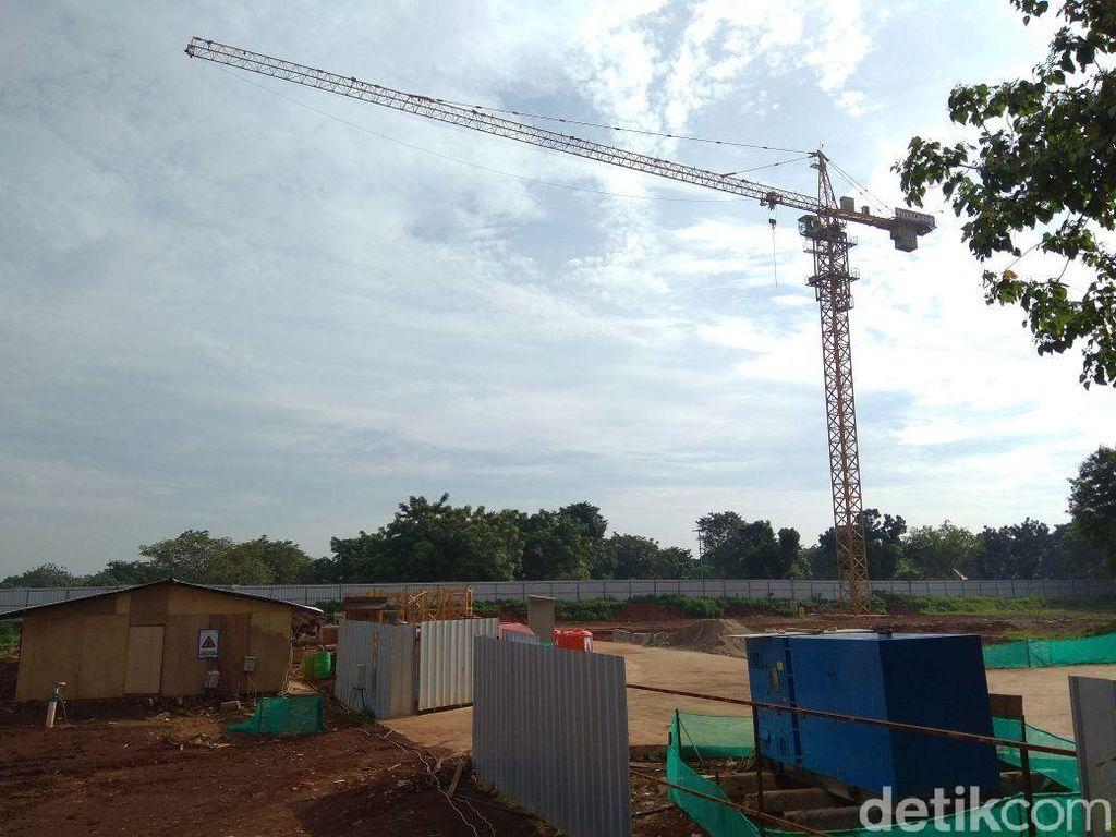Progres Proyek Rumah DP Rp 0 di Pondok Kelapa