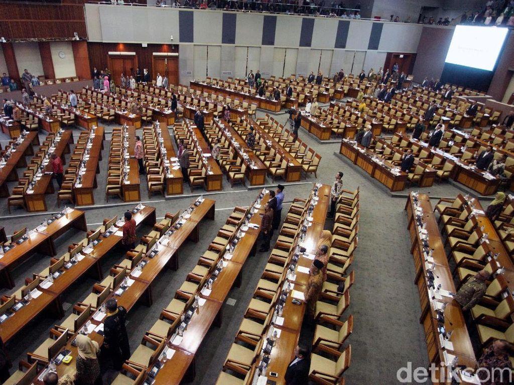 Rapat RAPBN 2019, 455 Anggota DPR Absen