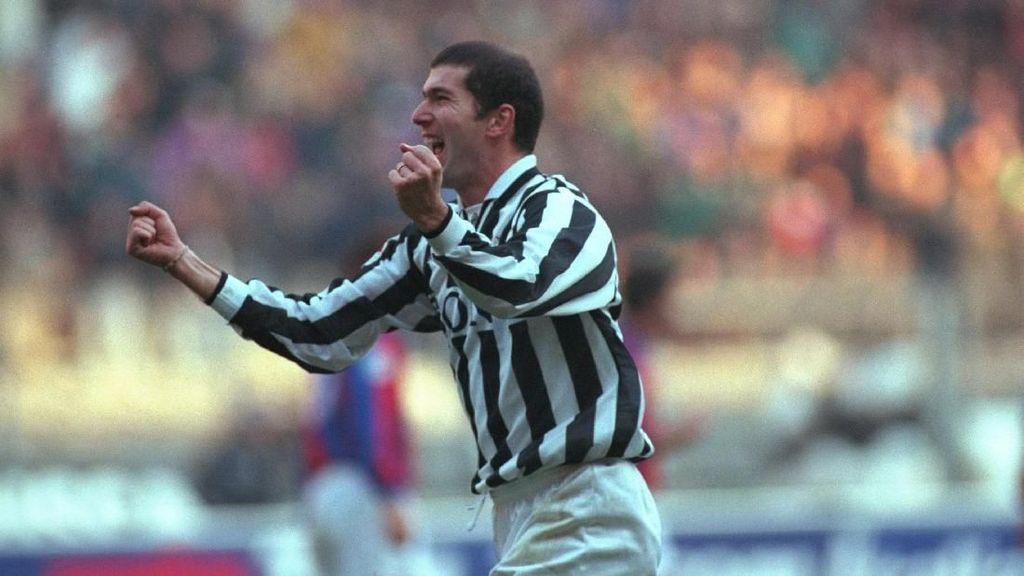 Zidane (Juga) Adalah Legenda Juventus