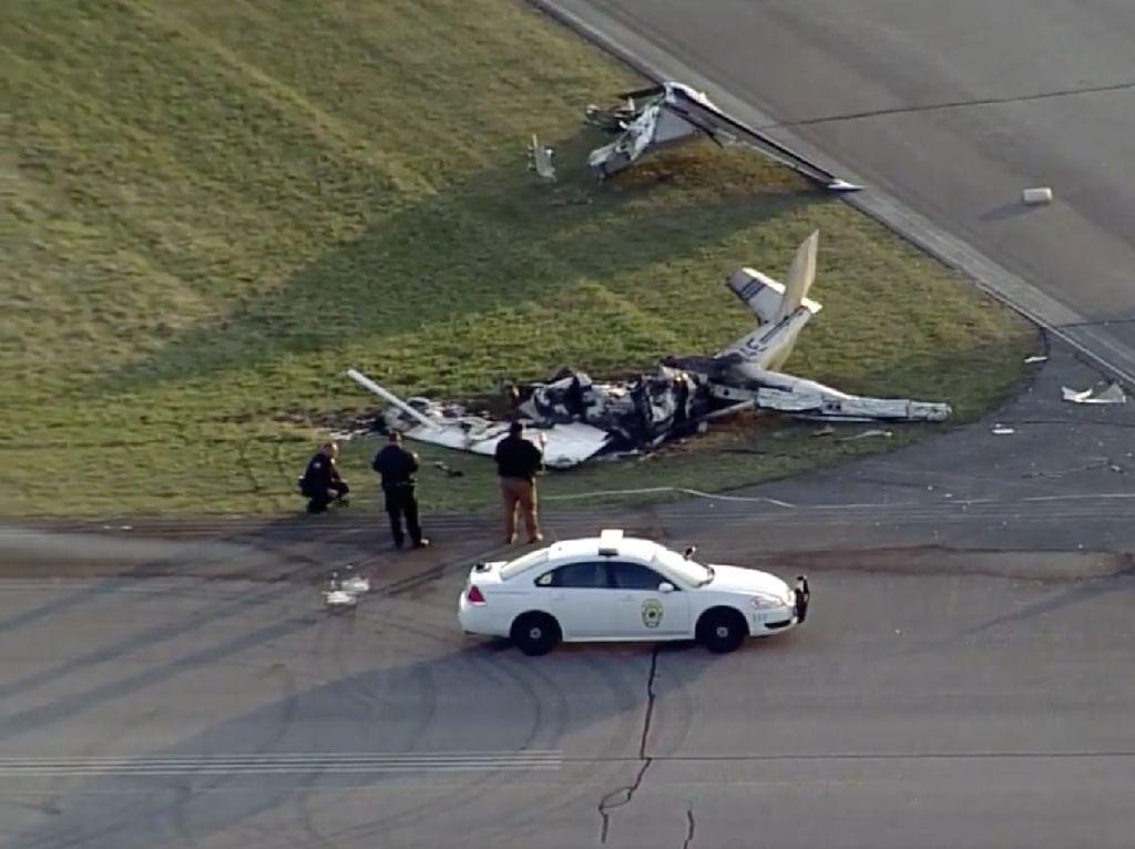 Pesawat Damkar Jatuh, 2 Pemadam Kebakaran AS Tewas