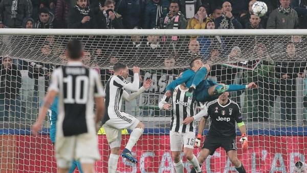 Soal Gol Salto Ronaldo, Zidane: Gol Saya ke Gawang Leverkusen Lebih Cantik