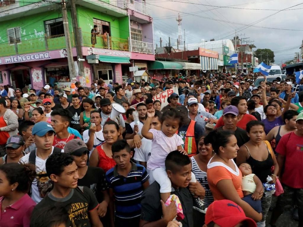 Jalan Panjang Etnik Amerika Tengah Mencari Suaka