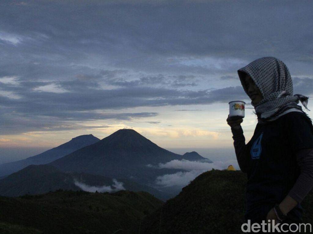 3 Bulan Ditutup, Jalur Pendakian Gunung Prau Dibuka Lagi Hari Ini