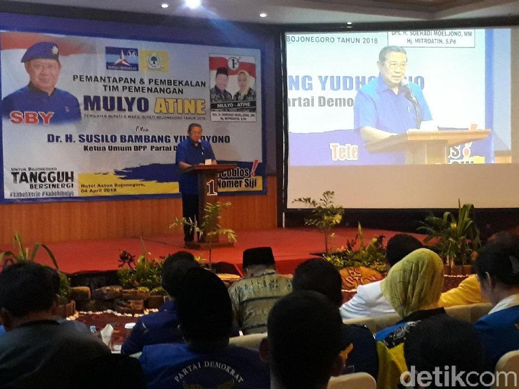 Datang ke Bojonegoro, SBY Wajibkan Calon Demokrat Menang di Pilbup