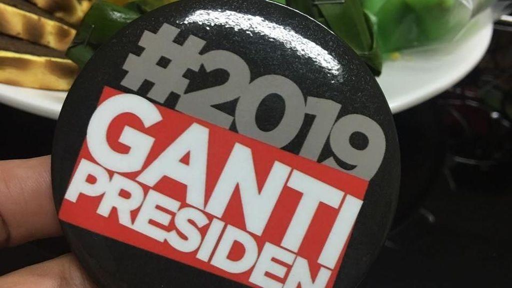 Foto: Beragam Aksesoris #2019GantiPresiden