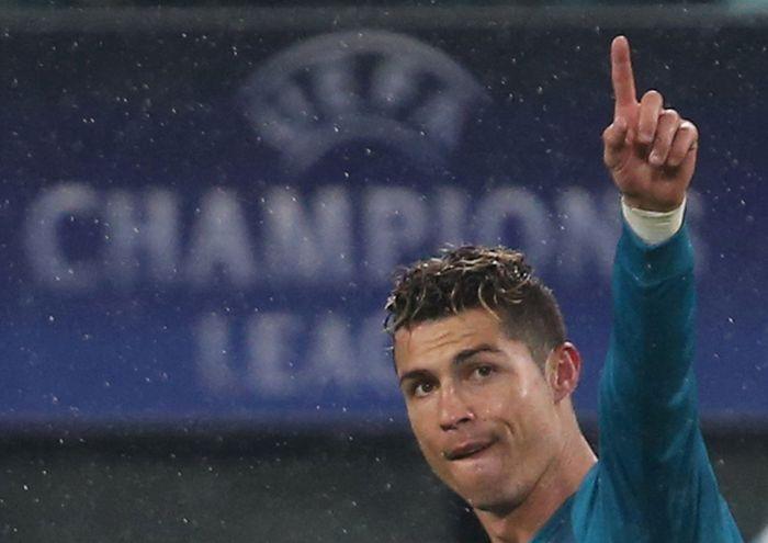Cristiano Ronaldo baru saja mengukir rekor anyar (Foto: Tony Gentile/Reuters)