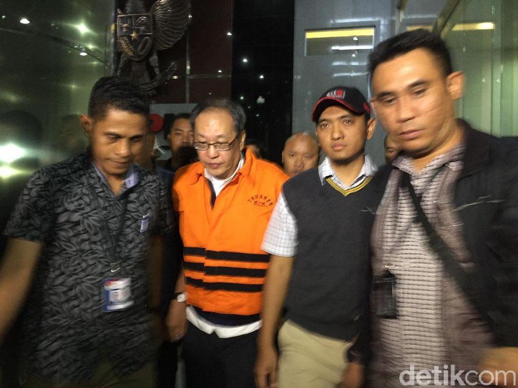Ditahan KPK, Orang Dekat Novanto Made Oka Masagung Bungkam