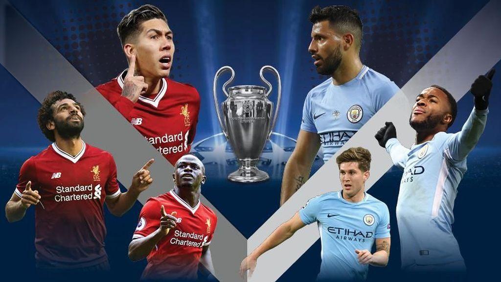 Asa Manchester City Balas Liverpool di Liga Champions
