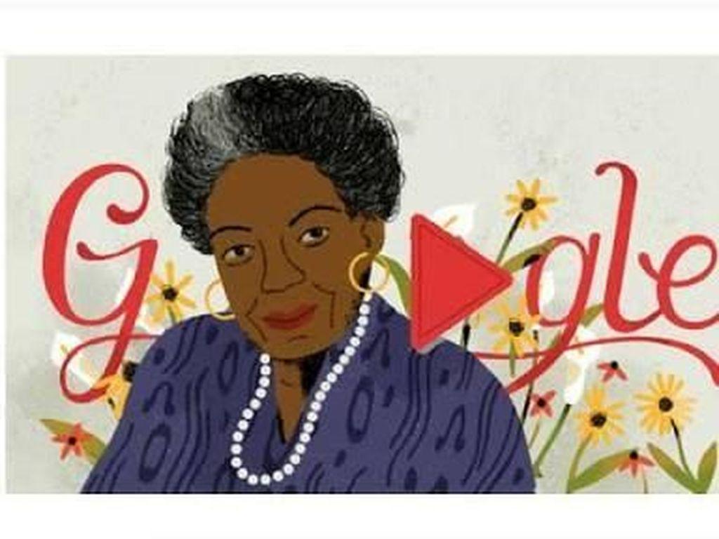 Maya Angelou dan Tiga Puisi yang Menginspirasi Publik