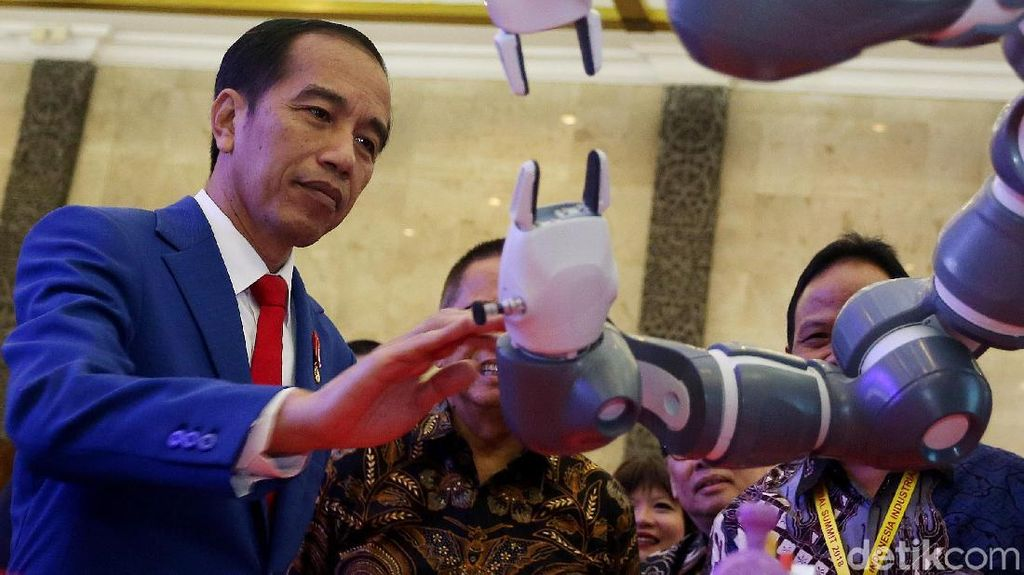 Jokowi Buka Indonesia Industrial Summit 2018