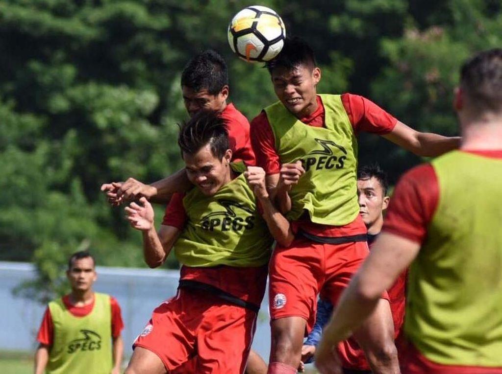 Jelang Lawan PSMS Medan, Persija Latihan Spesifik