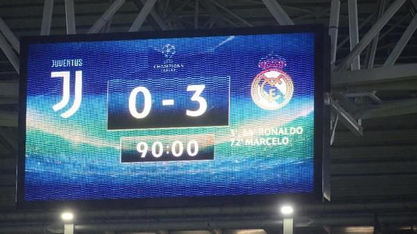 Kekalahan Terburuk Juve di Allianz Stadium