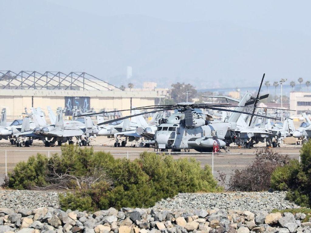 Helikopter Militer AS Jatuh Saat Latihan, 4 Kru Tewas