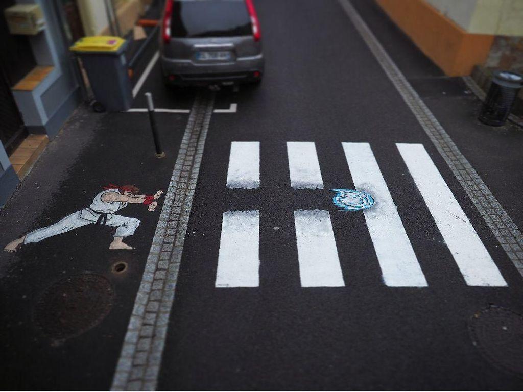 Ketika Jalanan Biasa Disulap Jadi Karya Seni Istimewa