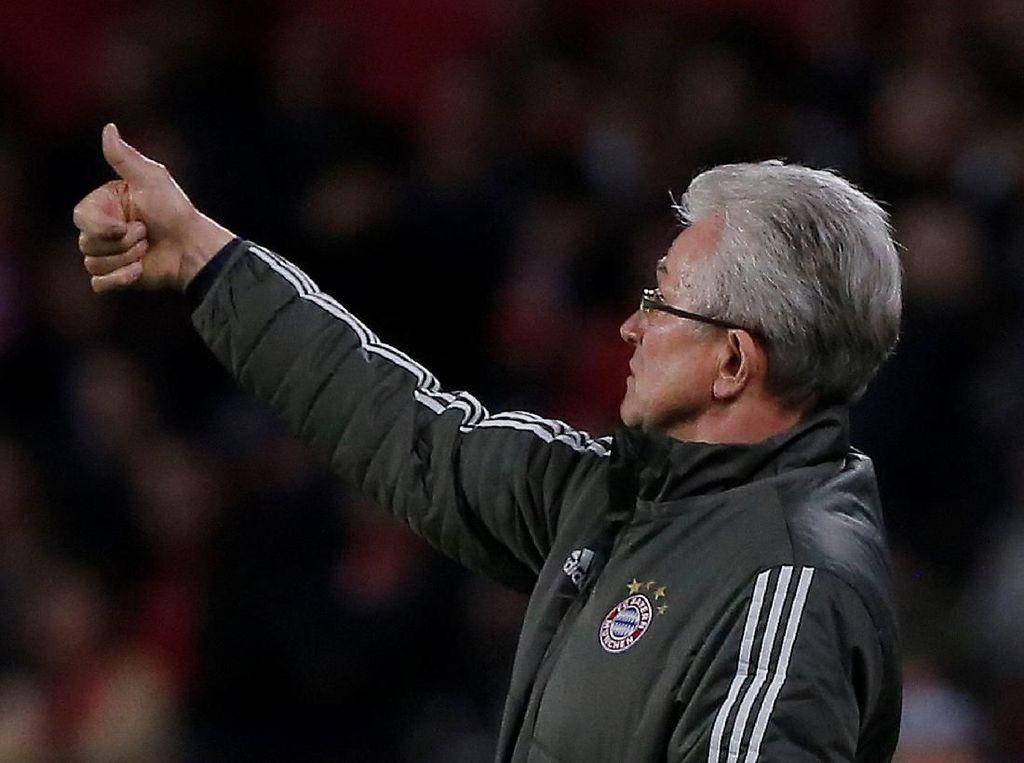 Bayern dalam Tren Buruk Lawan Madrid, Heynckes Cuek
