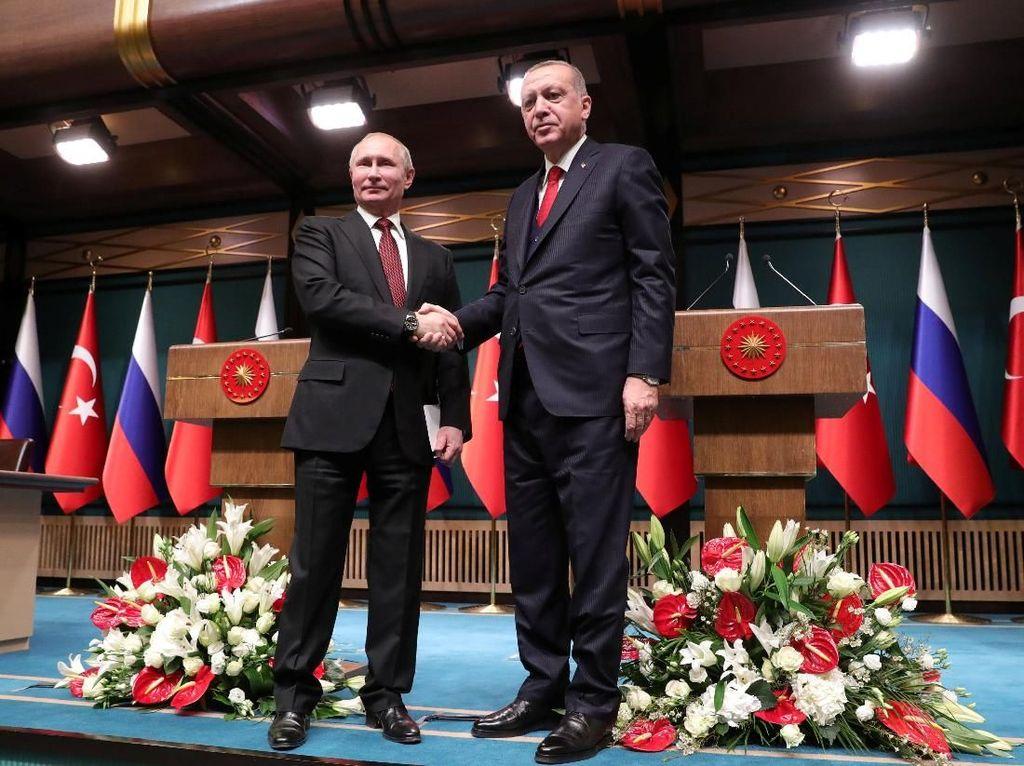 Putin dan Erdogan Resmikan Proyek Pembangkit Nuklir Pertama Turki