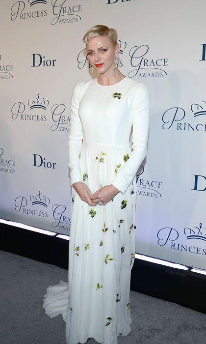 gaya stylish Putri Charlene dari Monako