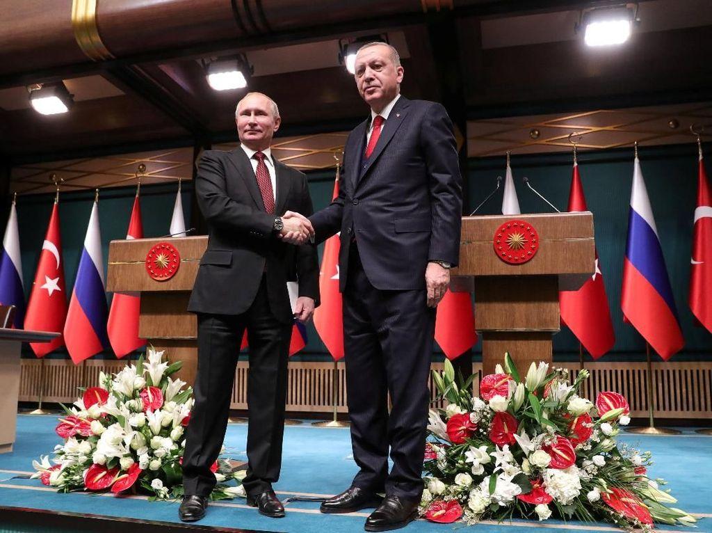 Foto: Putin-Erdogan Resmikan Proyek Pembangkit Nuklir USD 20 Miliar