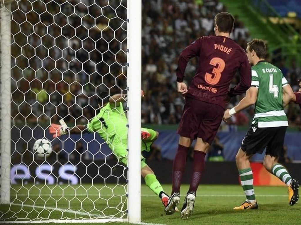 Gol-gol Bunuh Diri buat Barcelona di Liga Champions Musim Ini