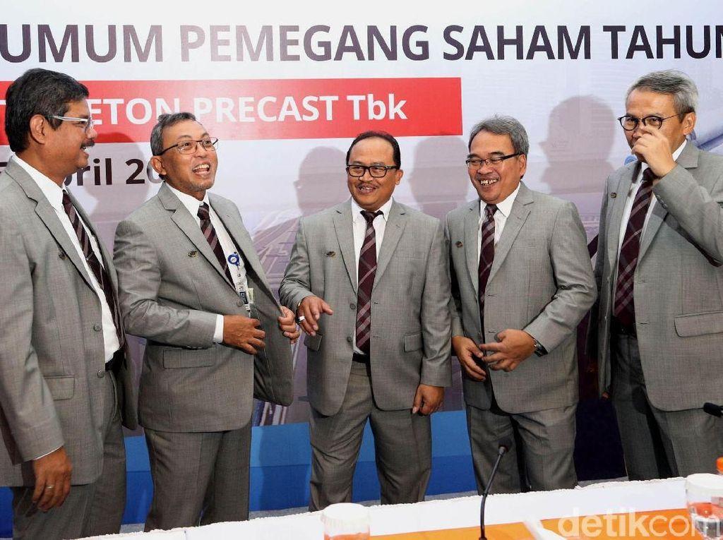 Waskita Beton Bagi Dividen Rp 750,24 Miliar