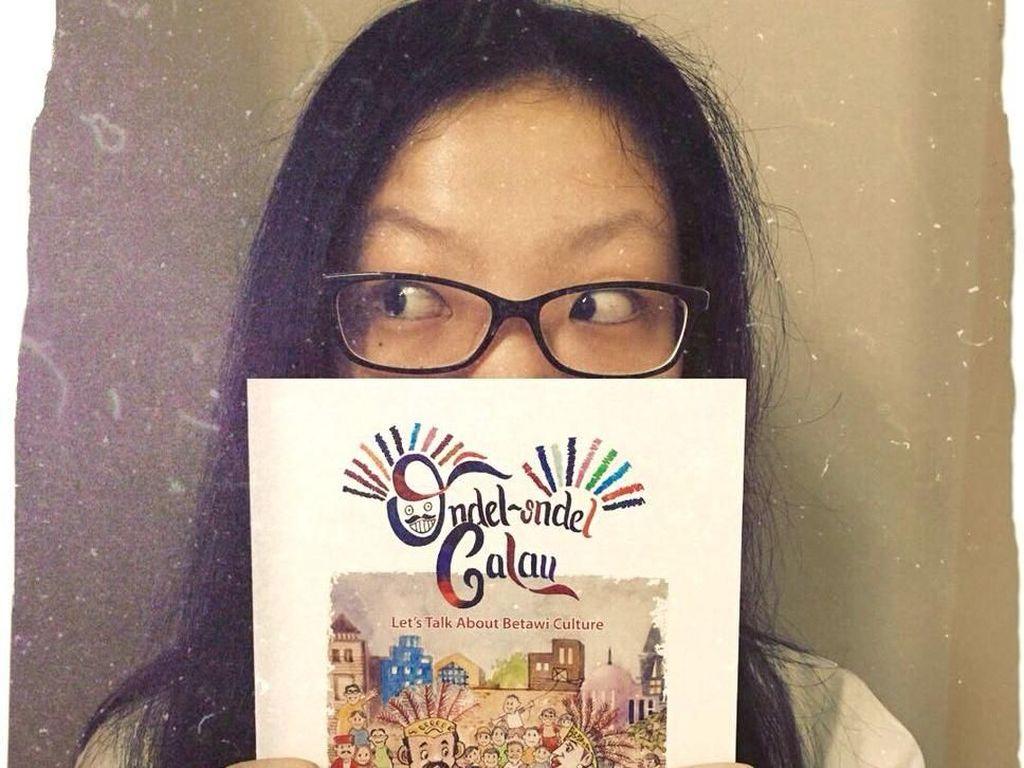 Frances Caitlin Angkat Budaya Betawi dalam Novel Ondel-Ondel Galau
