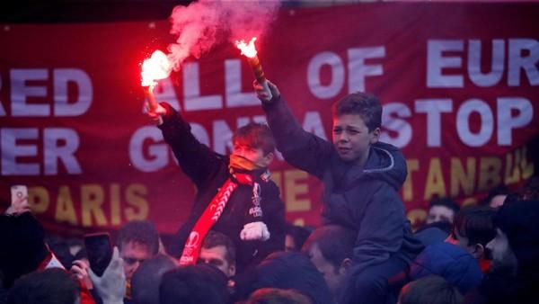 Polisi Jamin Keselamatan Fans Liverpool di Roma