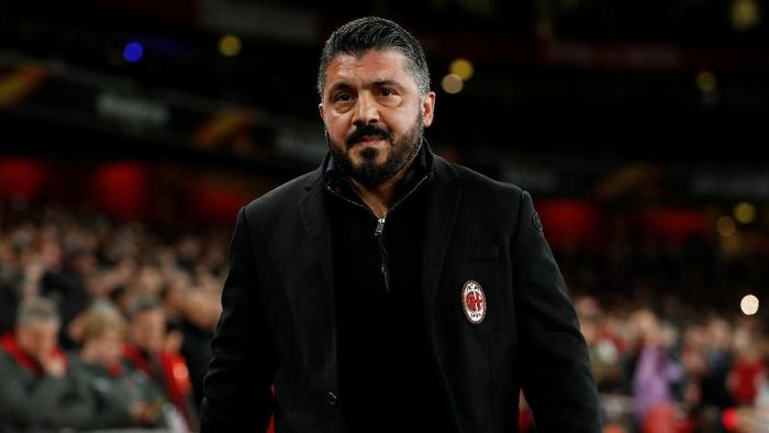 AC Milan menang tipis atas Dudelange di Liga Europa (John Sibley/Action Images via Reuters)