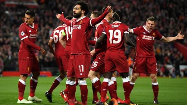 Liga Champions: Liverpool Subur Sekali, di Belakang pun Solid