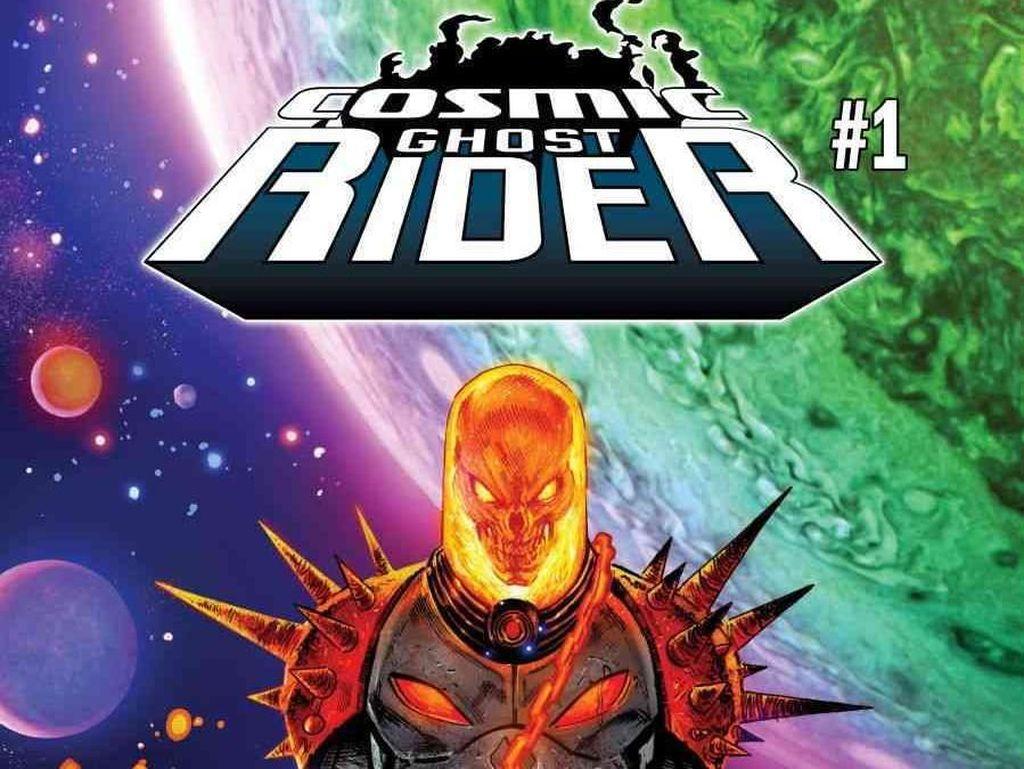 Marvel Tak Akan Cetak Komik Ghost Rider hingga Valkyrie