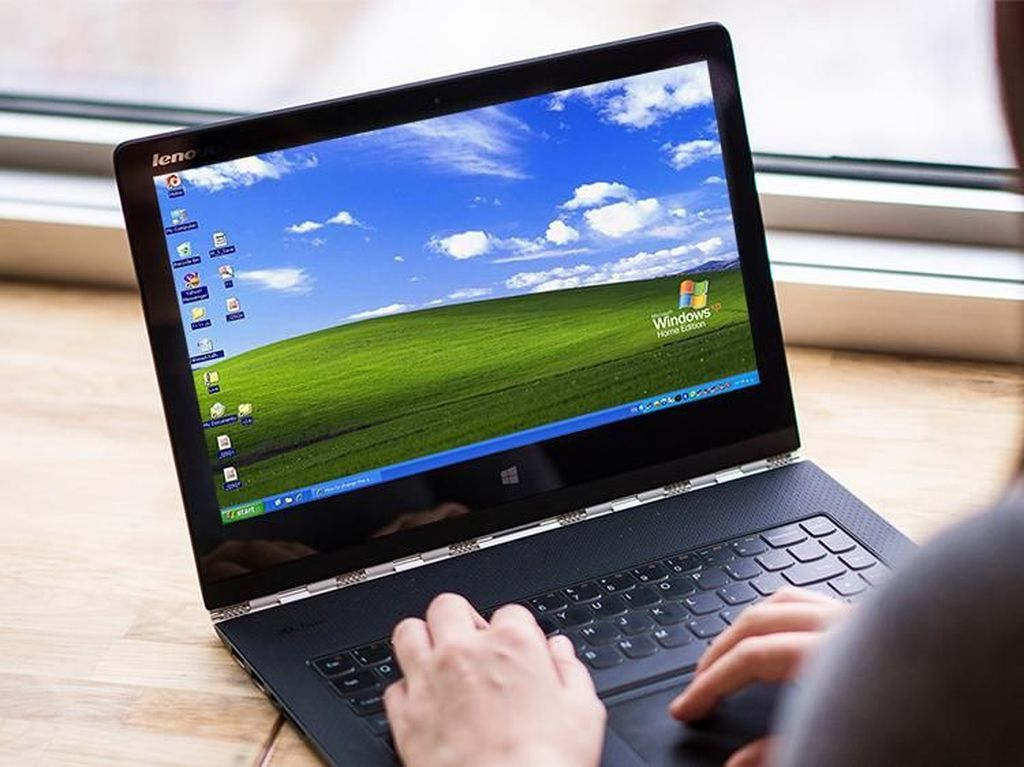 Tampilan Windows XP Jika Dirilis 2018