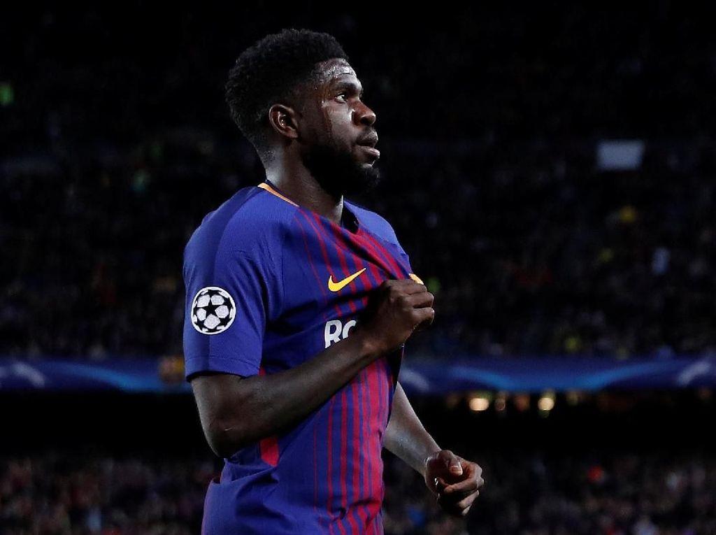 Umtiti Sepakati Kontrak Baru dengan Barcelona