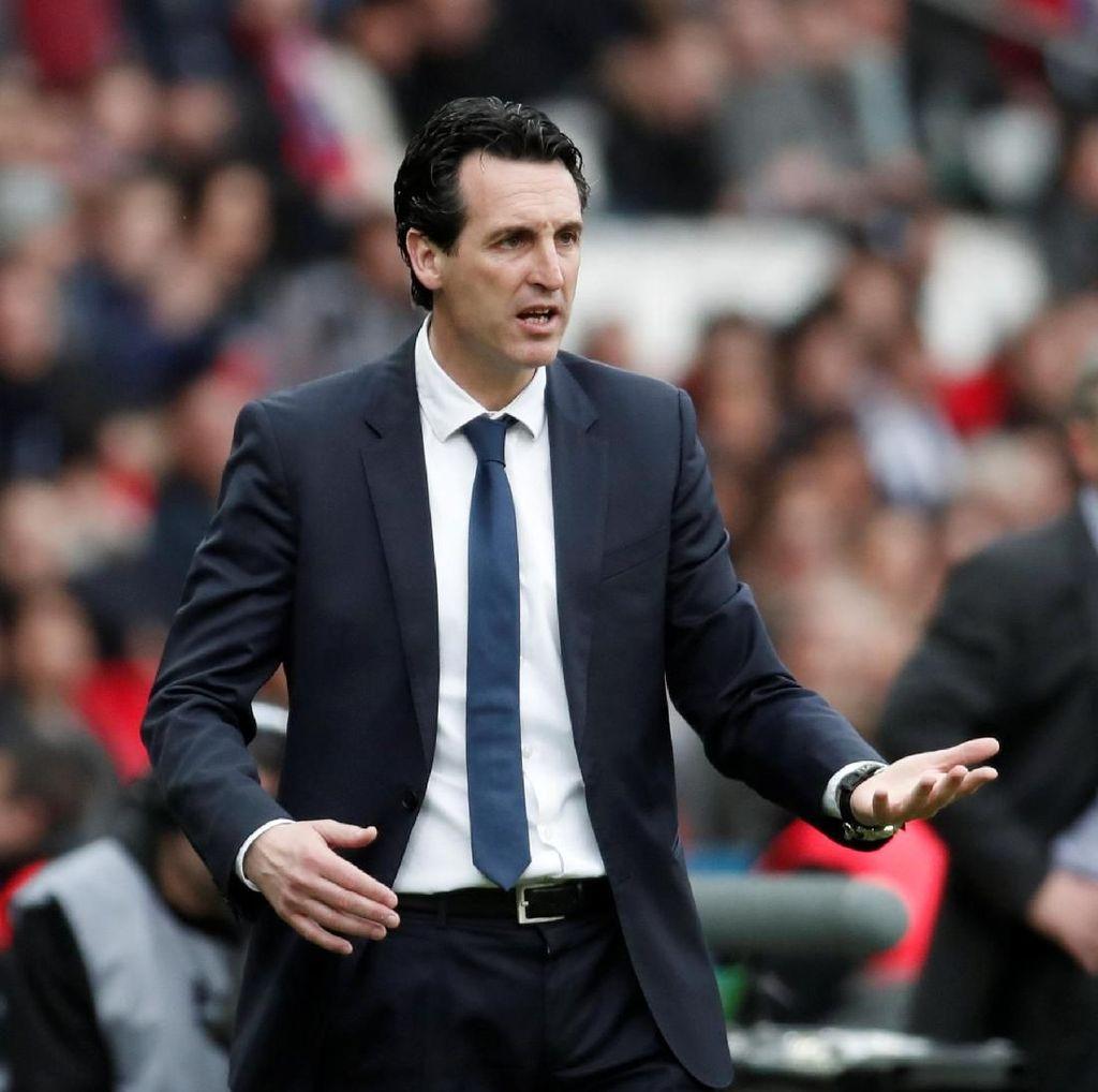 Emery Fokus Bawa PSG Ukir Sejarah, soal Masa Depan Nanti Dulu