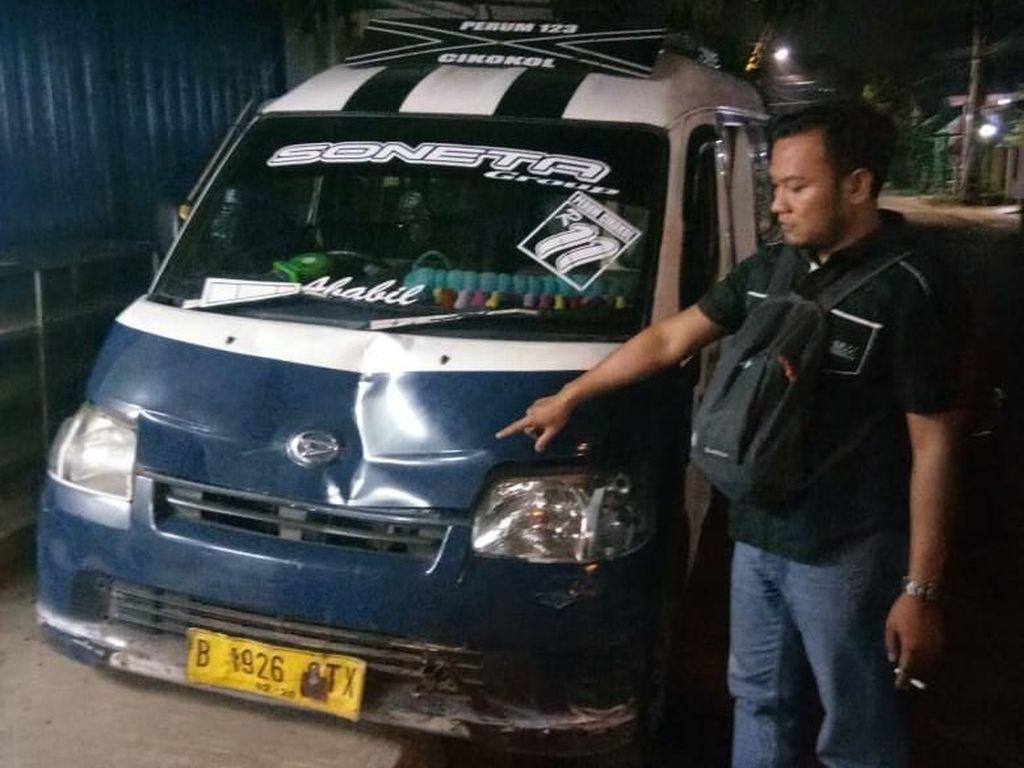 Sopir Angkot Penabrak 3 Pejalan Kaki di Tangerang Masih Diburu