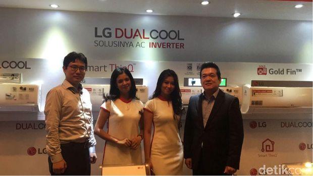 LG Rilis AC Pintar di Indonesia, Bisa Dikontrol dari Jarak Jauh