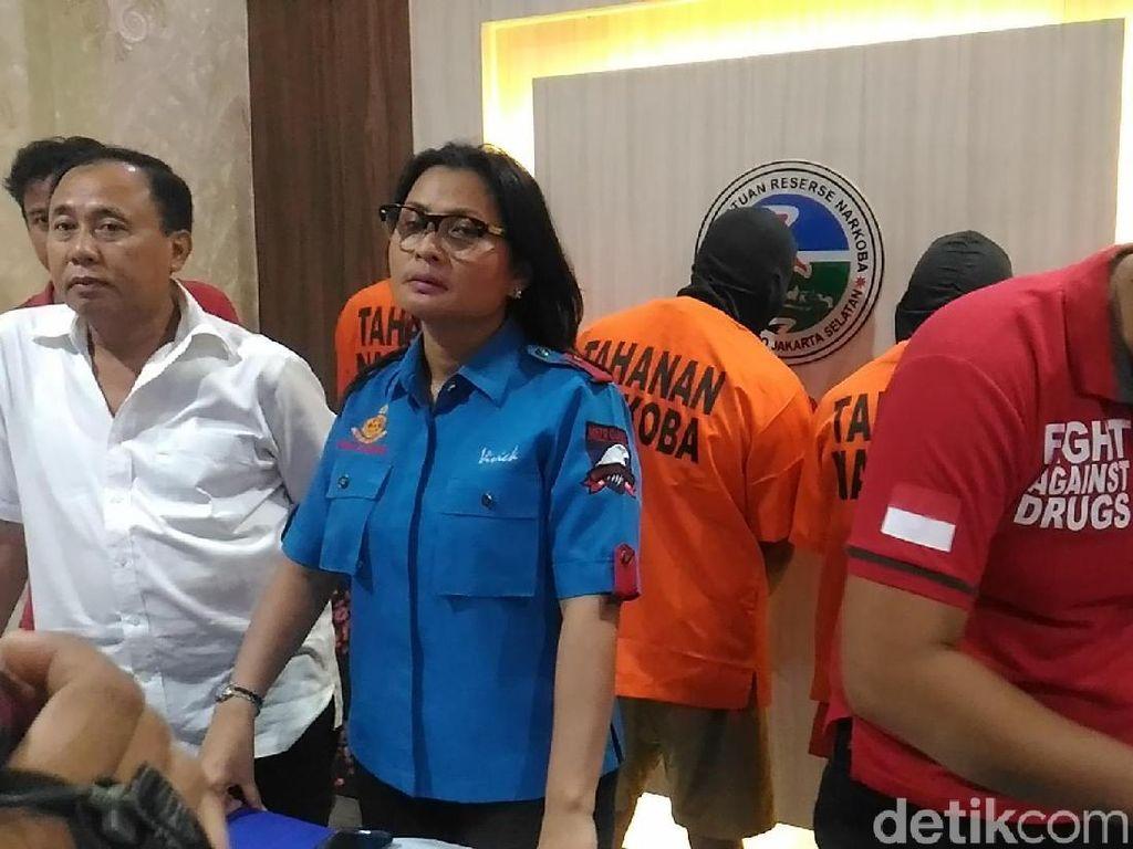 Polres Jaksel Tangkap Kaki Tangan Bandar Sabu yang Ditembak Mati
