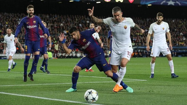 Barca Hantam AS Roma 4-1