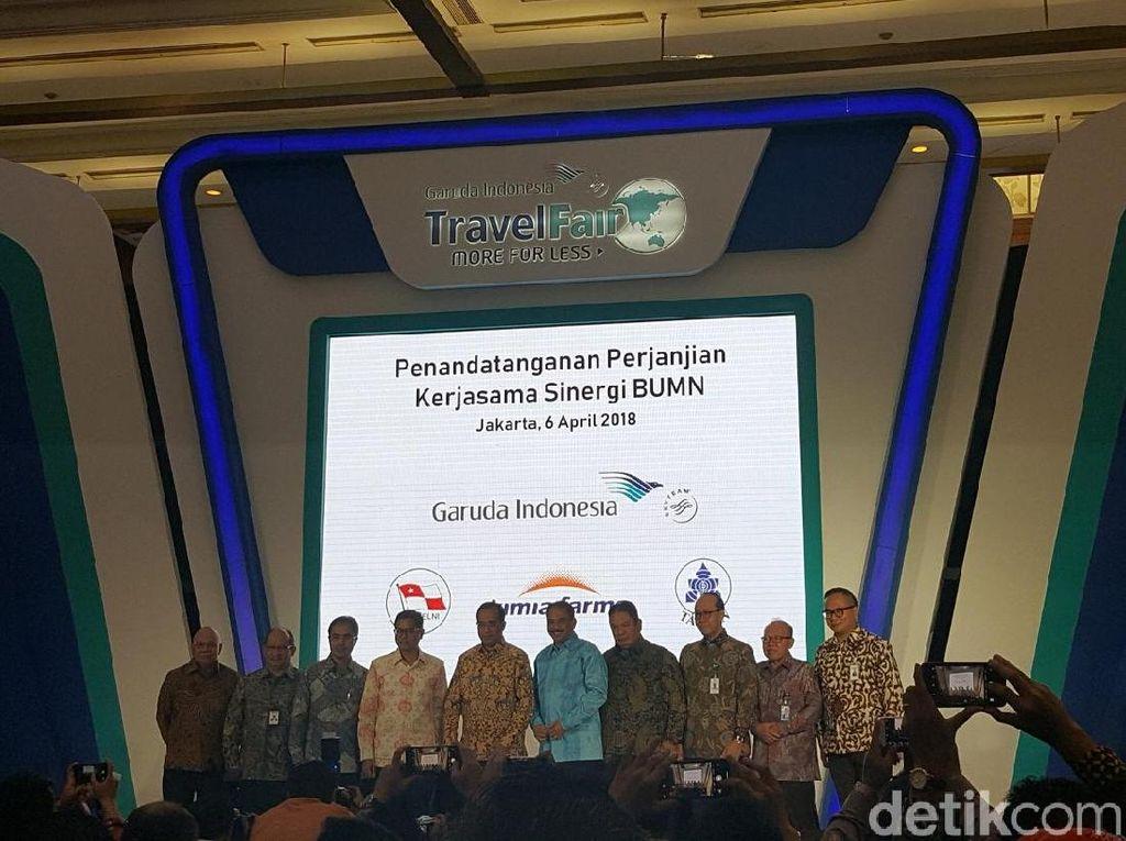 GATF Jakarta Resmi Dibuka, Banyak Promo Tiket Pesawat