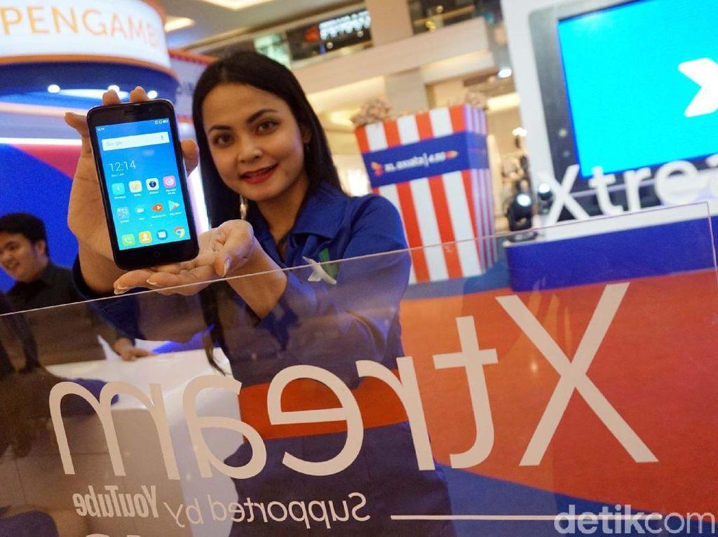 Xtream Phone, Ponsel 4G Murah untuk Video Streaming