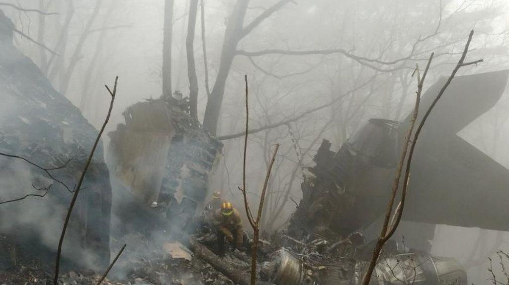 Penampakan Jet Tempur Korsel yang Jatuh dan Tewaskan 2 Pilot