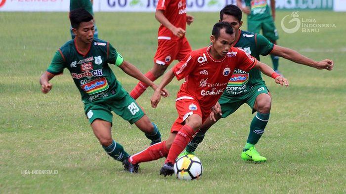 Pemain Persija Jakarta, Riko Simanjutak. (Foto: dok: Liga-Indonesia.id)
