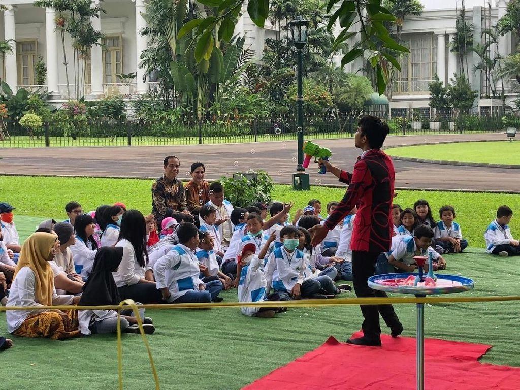Pesan Jokowi ke Anak Survivor Kanker: Harus Punya Cita-cita!