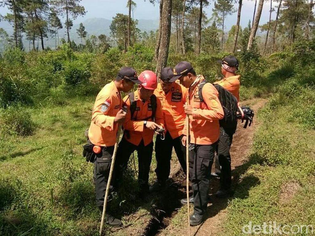 Hari ke-7, Pencarian Saminah yang Hilang di Gunung Slamet Disetop