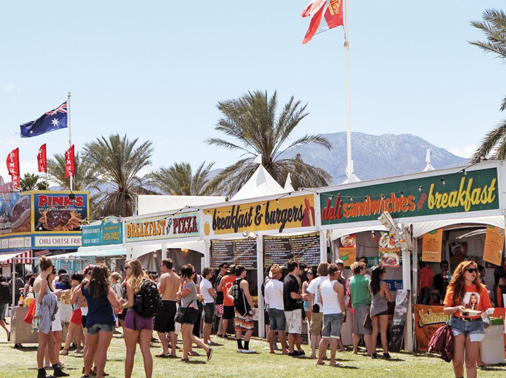 Ada Lebih dari 100 Makanan Enak dan Unik di Festival Musik Coachella 2018