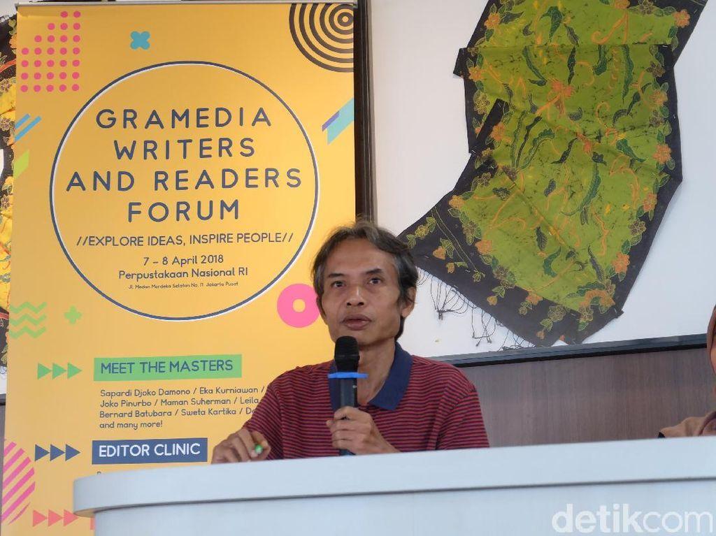 Cara Joko Pinurbo Jaga Eksistensi Karya Puisi yang Penuh Jenaka