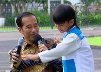 Alarik dan Jokowi /