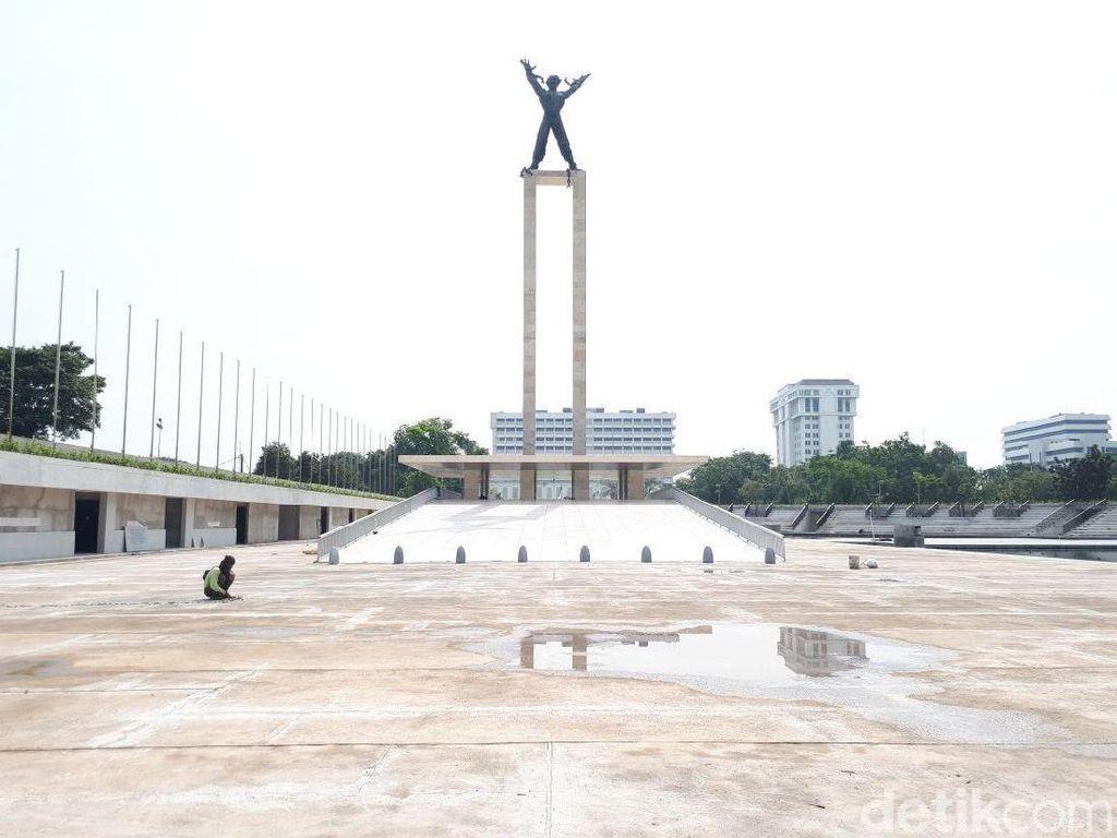 Foto: Hampir Rampung, Ini Wajah Baru Lapangan Banteng